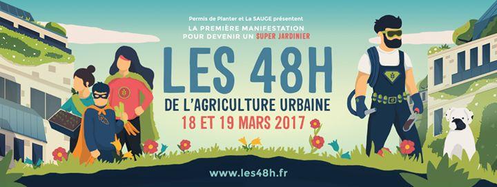 Les 48h de l'agriculture urbaine Strasbourg