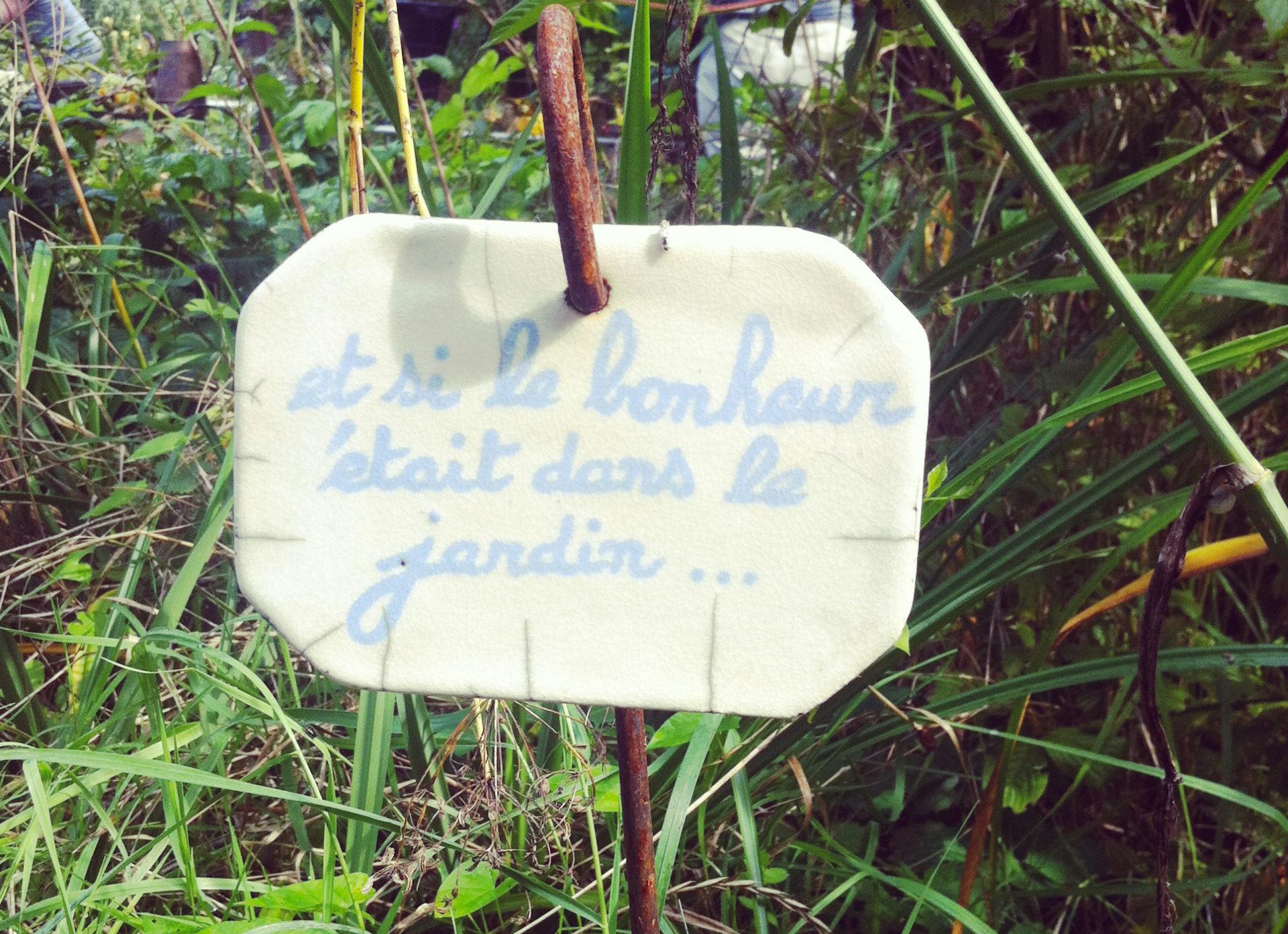 « A vos binettes » : De bavardage en jardinage le 29 septembre