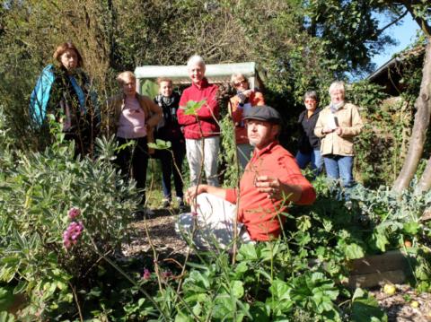 """Atelier """"A vos binettes !"""" - Un jardin de fruits, de plantes annuelles et de vivaces le 5 octobre"""