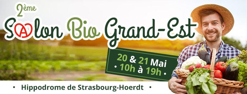 2ème salon Bio Grand Est 20-21 mai