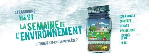 La Semaine de l'Environnement, un évènement Campus Vert du 03 au 08 avril