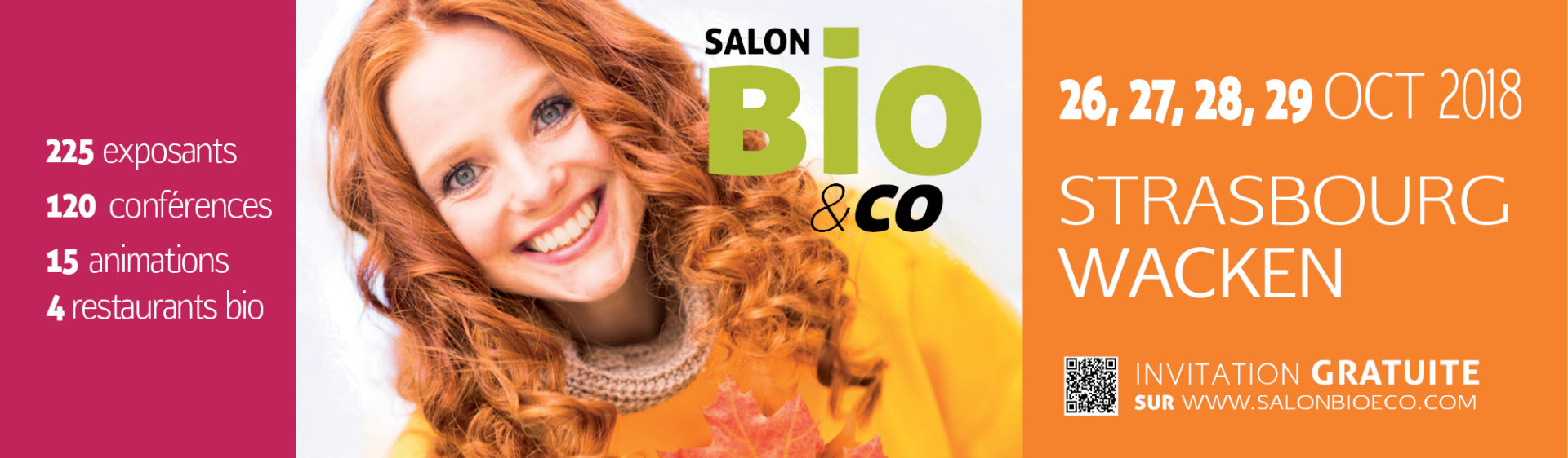 Salon Bio & Co du 26 au 29 octobre