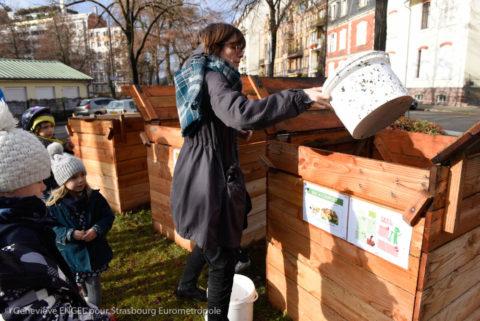 Inauguration du 30ème site de compostage associatif et collectif  le 1er décembre.