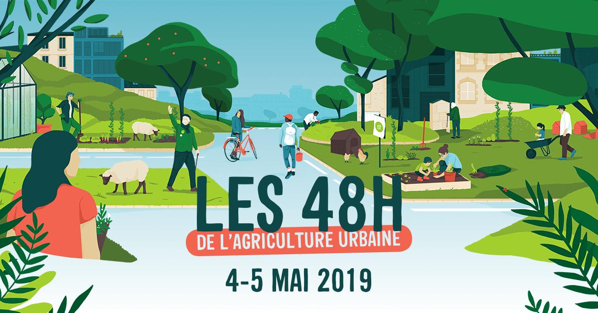 Les 48h de l'agriculture urbaine - 4&5 mai 2019