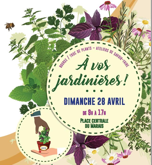 A vos jardinières ! le 28 avril à Schiltigheim