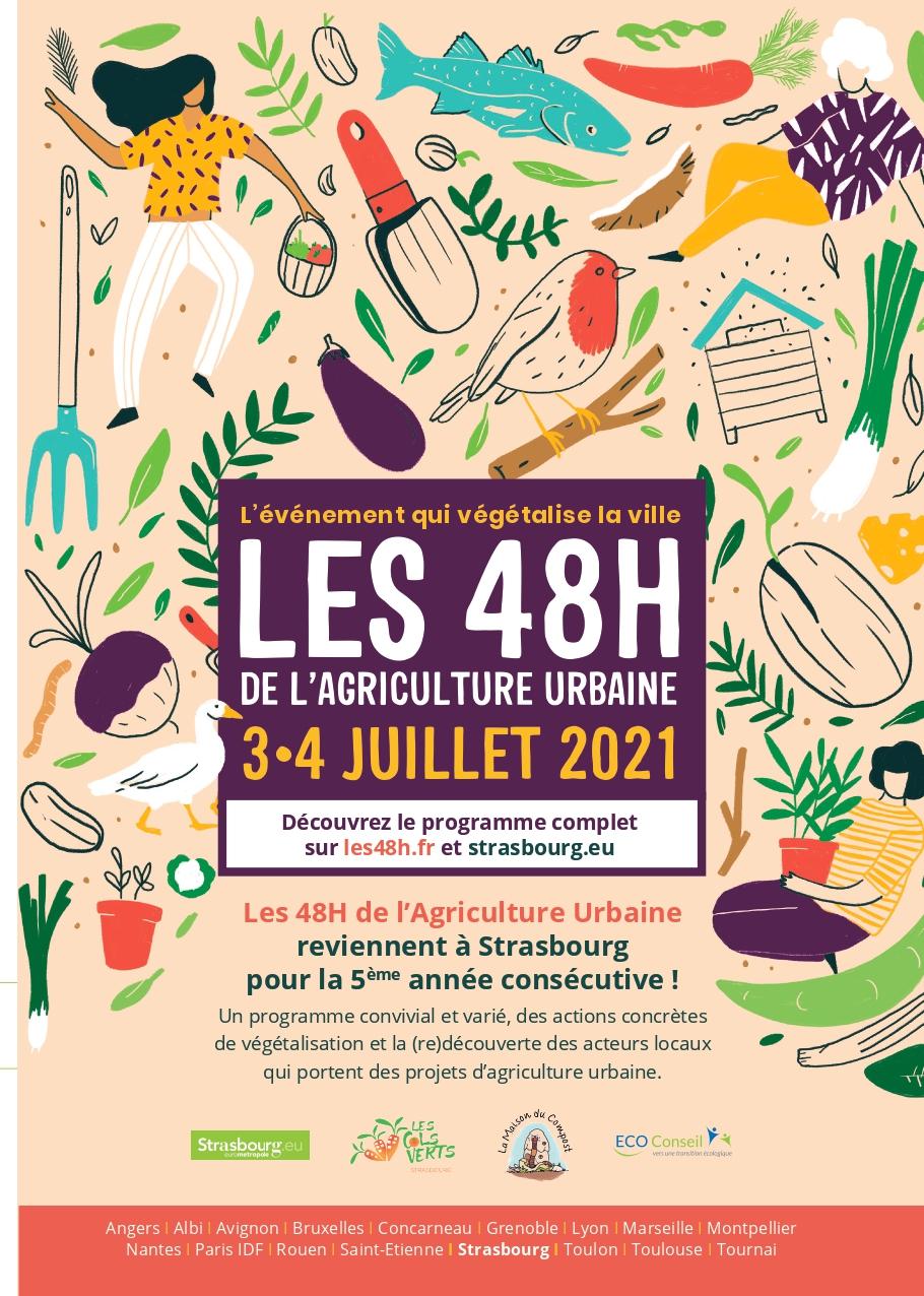 Les 48H de l'agriculture urbaine - 3&4 juillet 2021